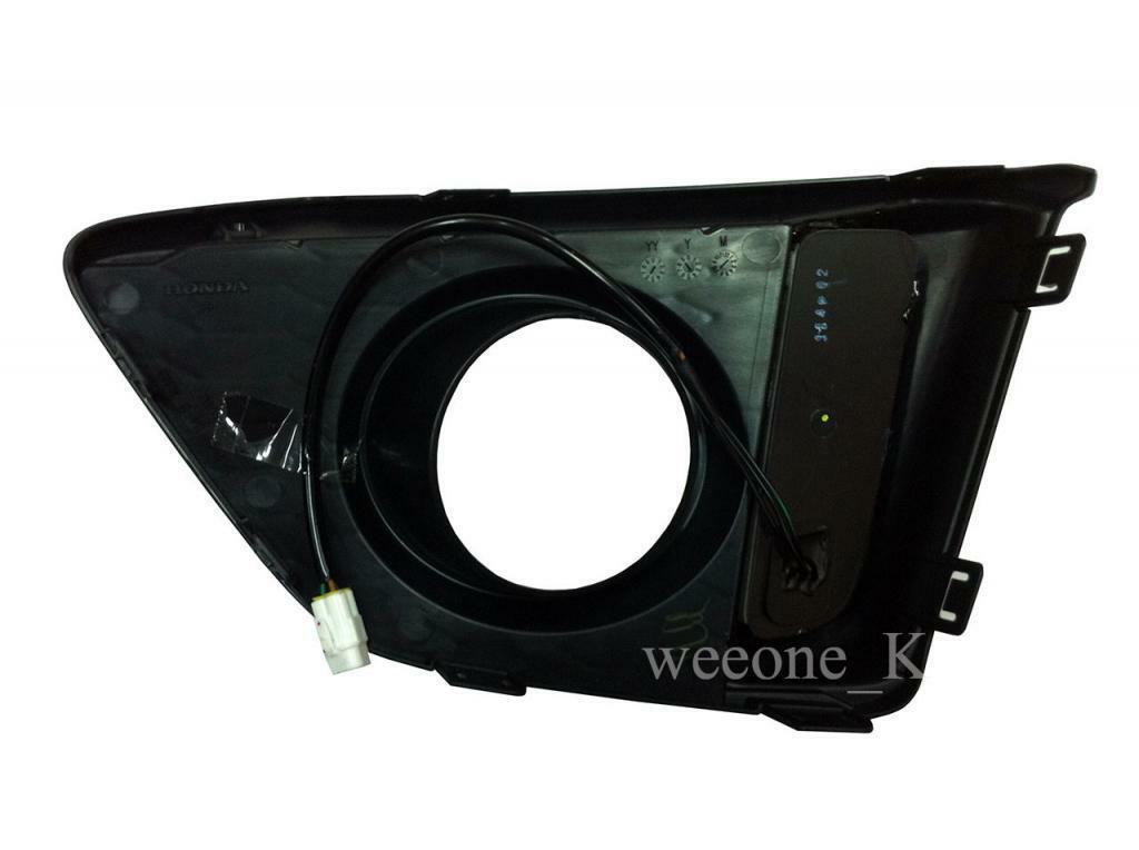 FOG LIGHT COVER L.E.D LED DAYLIGHT FOR HONDA JAZZ / FIT 2014 2015 image 3