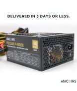 1600W Modular Power Supply For 6 GPU Eth Rig Ethereum Coin Mining Miner ... - $138.59