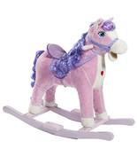 HollyHOME Child Princess Rocking Horse Riding Rocker with Sound Pretend ... - $54.72