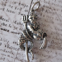 Aquarius Charm Vintage Shube's - Made in the USA - Sterling Silver - $16.00