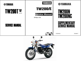 1987-2014 Yamaha TW200 Service Repair Manual on a CD  --  TW 200 - $12.99