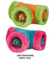 Peek A Boo Cat Toys Hidden Tunnel Mice Interactive Catnip Infused Balls ... - £11.83 GBP