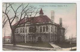 Elmira Free Academy Elmira New York 1907 postcard - $6.44