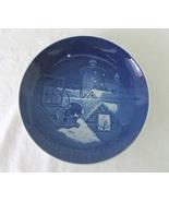 Royal Copenhagen Plate, Copenhagen Christmas, Made in Denmark, c. 1977, ... - $6.00