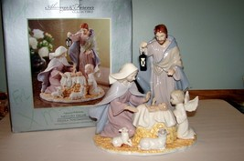 Always and Forever Nativity Decor Collectible Large Figurine in Box - $64.30