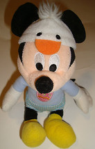 """Disney Mickey Mouse Easter Duck Egg Plush Stuffed Animal Toy Chick 9"""" - $19.95"""
