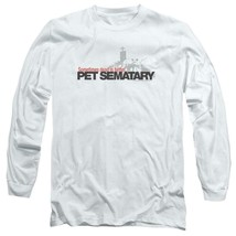 Stephen Kings Pet Sematary Retro 80's Horror long sleeve graphic t-shirt PAR293 image 1