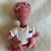 "Vintage 1990s E T the Extra Terrestrial 10"" Plush Stuffed Doll Universal Studios - $23.08"