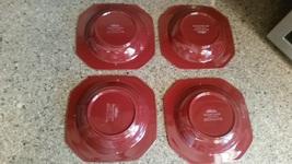 MIKASA ENGLISH CHINTZ CINNABAR BOWLS SOUP C 6101 OVEN MICROWAVE DISHWASH... - $39.99