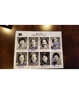 1982-83 FLYERS TEAM ISSUE PHOTO SET SIGNED AUTO from 14 including Pelle - $1,508.49