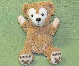 "9"" DUFFY PUPPET TEDDY DISNEY PARKS BEAR Tan Plush Stuffed HIDDEN MICKEY ... - $14.03"