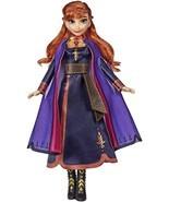 Disney Frozen Singing Anna Fashion Doll with Music Wearing A Purple Dress Inspir - $24.99