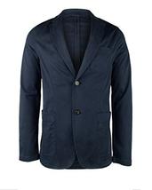 $198 Michael Kors Men's Slim-Fit Garment Dyed Sport Coat, Midnight, Size 42R - $76.02
