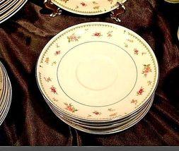 Abingdon Porcelain China Pink Roses AA18 - 1152 Vintage 33 Piece Set image 4