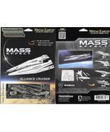Mass Effect Game Alliance Cruiser Metal Earth 3-D Laser Cut Steel Model ... - $12.55