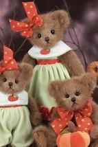 """Bearington Bears """"Hailey Harvest""""  14"""" Plush Bear- #179930 - NWT- 2012 - $39.99"""