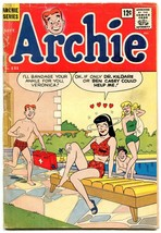 Archie #131 1962- Betty & Veronica- swimsuit cover F/G - $24.83