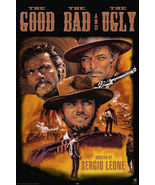 CLINT EASTWOOD THE GOOD THE BAD AND THE UGLY MOVIE POSTER 24 x 36 Inch - $24.00