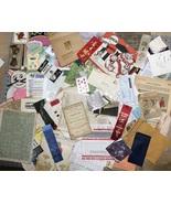 100 pc LOT~ VTG Paper Ephemera Junk Drawer Momentos Detash Photos Cards ... - $38.00