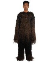 Adult Men's  Hairy Warrior Ape Military Leader Resistance Fighter Costum... - $122.85