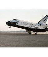 Space Shuttle Discovery lands at Edwards Air Force Base STS-51-G Photo P... - $7.05