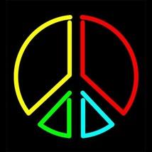 """Neon Peace II Sign Sculpture Wall Art Bar Sign Decor   12"""" x 12"""" - $89.99"""