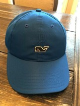 Vineyard Vines Whale Logo Baseball Hat Cap Royal Blue With Navy Whale MS... - $27.72