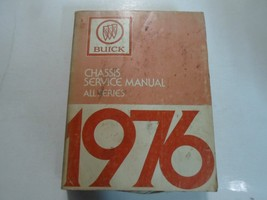 1976 Buick ALL MODELS Riviera Skylark Century Service Repair Manual Stained Wear - $38.46