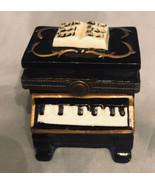 "Porcelain Hinged Box PIANO  2-1/4"" - $11.65"