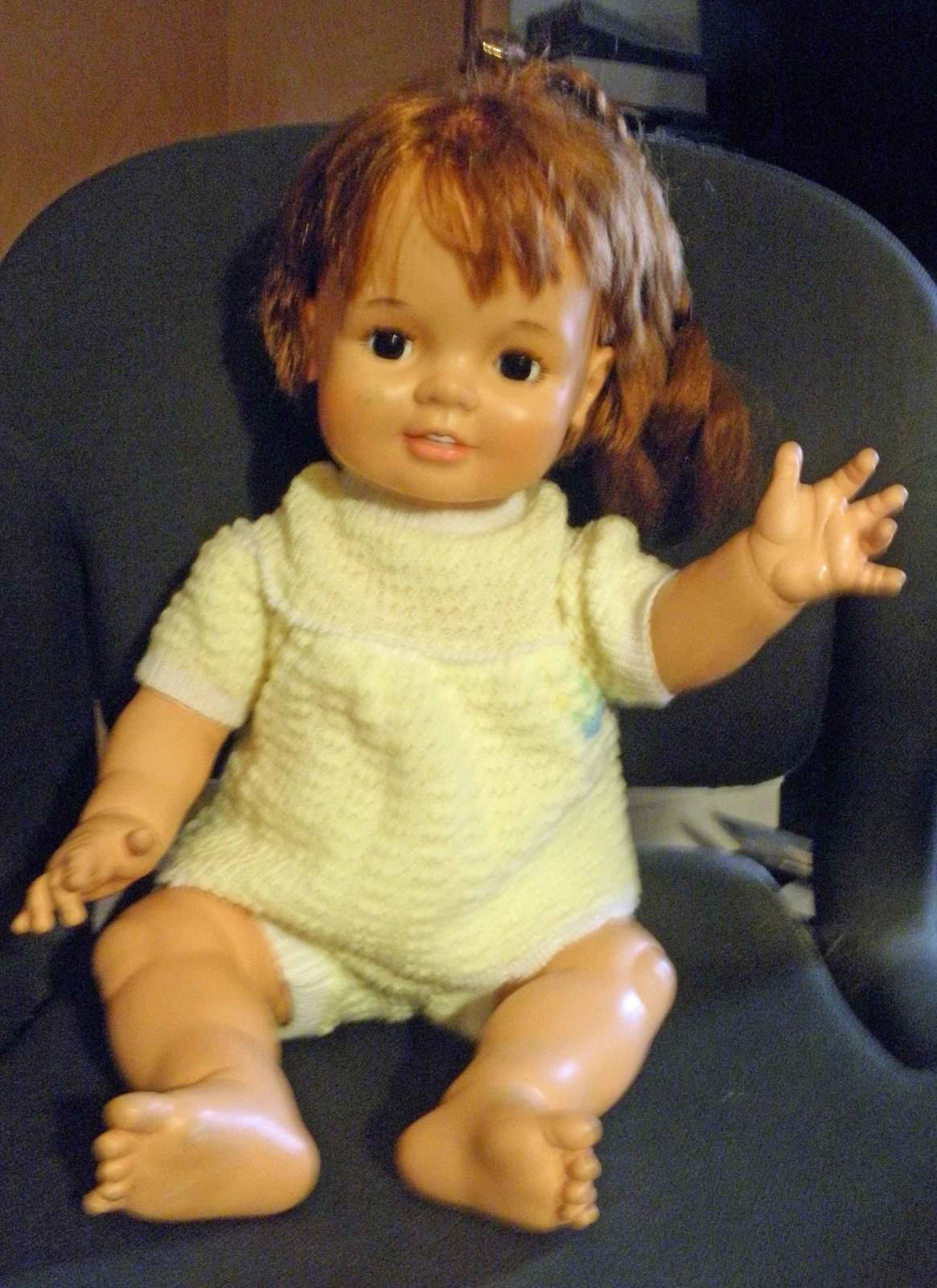 "Primary image for Vintage 1972-1973 22"" Grow Hair Baby Crissy Doll"