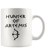Hunter of Artemis Greek Mythology Demigod 11oz Ceramic White Coffee Mug - $19.95