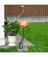 Zings & Thingz 57074041 STATUESQUE Flamingo Garden Decor, Pink - $84.01