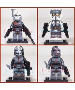 The BAD BATCH Star Wars Minifigure Set of 4 +Stands Clone Force 99 Best ... - $20.00