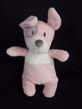 "Baby GUND Girl's 11"" Plush Pink SPOTTO PUPPY DOG Toy RATTLE w/ Crinkly Ears - $14.65"