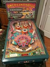 Vtg Tomy Electronic Arcade American Pinball Machine w/ Power Adapter / T... - $249.99
