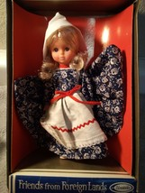 Friends Of Foreign Lands DOLL--HOLLAND--UNEEDA--FREE SHIP--NEW - $15.47