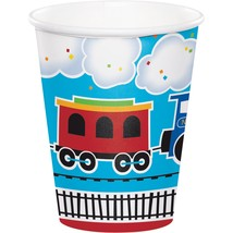 All Aboard 9 Oz. Paper Cup/Case of 96 - $41.65