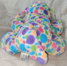 Fiesta Mod Squad A51766 12 inch Multi Colored Polkadots Floppy Dogs image 4