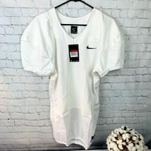 New Nike Vapor Pro Football Training Jersey Men's Sz Large White 845929-... - $19.59
