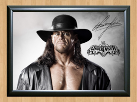 The Undertaker WWE Signed Autographed A4 Print Poster Photo wwf ufc belt diva 1 - $9.95