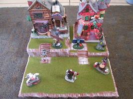 Halloween Christmas Easter Village Display Platform Base HWS-02 - Dept 5... - $37.95
