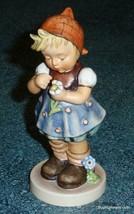 """Daisies Don't Tell"" Goebel Hummel Figurine #380 TMK6 Cute Collectible G... - $77.59"