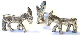 DONKEY FINE PEWTER FIGURINE - Approx. 3/4 inch tall   (T181) image 3