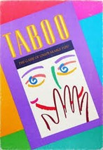 Hasbro Taboo Board Game The Game Of Unspeakable Fun New and Sealed - $7.69