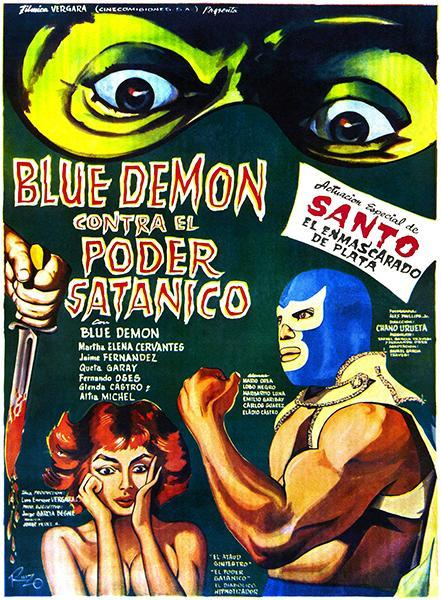 Primary image for Blue Demon vs The Satanic Power - 1966 - Movie Poster