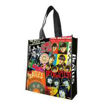 NEW THE BEATLES LARGE RECYCLE SHOPPER TOTE BAG - $12.86