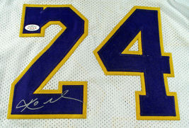KOBE BRYANT / LOS ANGELES LAKERS / AUTOGRAPHED LAKERS WHITE CUSTOM JERSEY / COA image 3