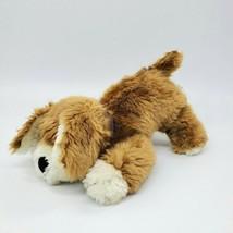 "11"" Vintage Calplush Puppy Dog 2656-11 Cream Brown Collar Plush Stuffed ... - $14.99"