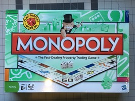 MONOPOLY - FAST SPEED DIE - Board Game NEW & Factory Sealed 2008 - $12.95
