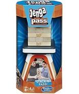 Jenga Pass Challenge Updated Classic Family Fun Board Game Hasbro HSBE0585 - $29.69